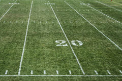 Football field 20 Stock Images