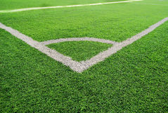 A football field Stock Photography