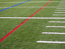 Football Field Stock Image