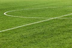 Football field royalty free stock photography