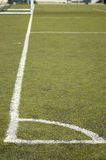 Football field. Elements and marks Royalty Free Stock Image