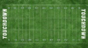 Football Field vector illustration