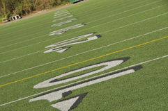 Football Field. In Seattle, Washington Stock Images