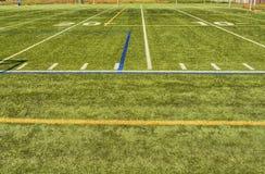 Football field Stock Photography