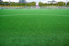 An football field royalty free stock photography