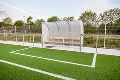 An football field stock photos