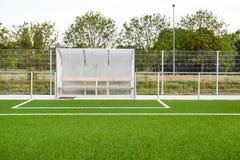 An football field royalty free stock photo