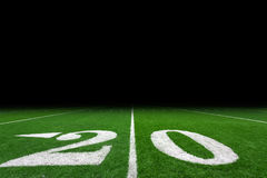 Football field background Royalty Free Stock Images
