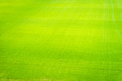 Football field background. Close up of soccer or football field Stock Photo