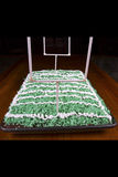 Football Field Cake Stock Photo