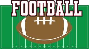 Football Field Royalty Free Stock Photos