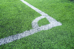 Football field conner. Pic of football field conner Stock Image