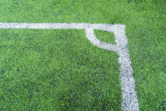 Football field conner. Pic of football field conner Stock Photos