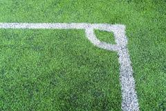 Football field conner Stock Photos