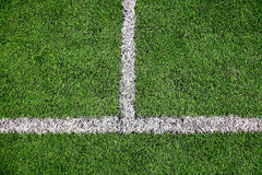 Football field detail Stock Image