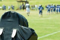 Football Field/Equipment/Players royalty free stock photos