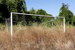 Football field fallow Stock Images