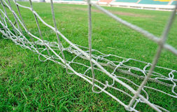Football field gate Royalty Free Stock Photos