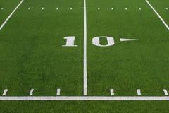 Ten Yard Line On Football Field Stock Photo Image Of People Combative 37274268