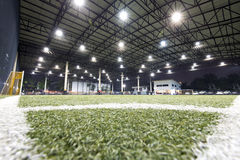 Football field indoor of Thailand Royalty Free Stock Images