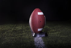 Football Field Kickoff Stock Photography