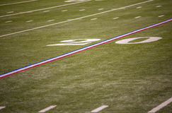 Football Field Royalty Free Stock Photography
