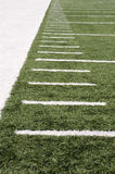Football field markers Royalty Free Stock Photos
