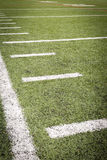 Football Field markings Royalty Free Stock Images