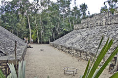 Football field of the Mayas Stock Photography