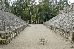 Football field of the Mayas Royalty Free Stock Images