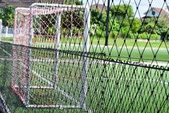 Football field net Stock Photo