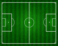 Football Field Or Soccer Field Stock Photography
