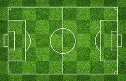 Football field or soccer field for background. Green lawn court for create game. Football field or soccer field for background. Green lawn court for create sport royalty free stock images