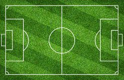 Football field or soccer field for background. Green lawn court for create game. Football field or soccer field for background. Green lawn court for create sport royalty free stock image