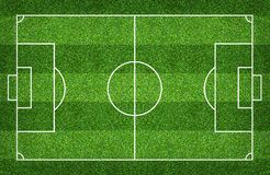 Football field or soccer field for background. Green lawn court for create game. Football field or soccer field for background. Green lawn court for create sport royalty free stock photo