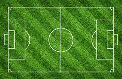 Football field or soccer field for background. Green lawn court for create game. Football field or soccer field for background. Green lawn court for create sport royalty free stock photography