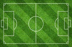 Football field or soccer field for background. Green lawn court for create game. Football field or soccer field for background. Green lawn court for create sport stock photo