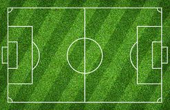 Football field or soccer field for background. Green lawn court for create game. Football field or soccer field for background. Green lawn court for create sport stock photography