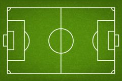 Football field or soccer field background. Vector. Vector Illustration
