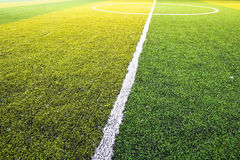 Football field, soccer Stock Images
