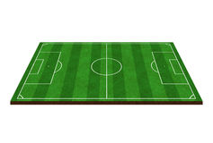 Football field Soccer field Green field Sport field. S Stock Image