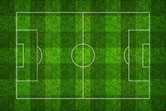 Football field or soccer field pattern and texture with clipping. Path. Abstract soccer field or football field background for create soccer tactic and soccer Royalty Free Stock Images