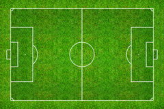 Football field or soccer field pattern and texture with clipping. Path. Abstract soccer field or football field background for create soccer tactic and soccer Stock Images