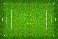 Football field or soccer field pattern and texture with clipping Stock Photography
