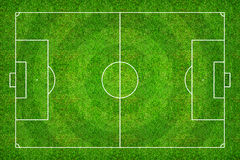 Football field or soccer field pattern and texture with clipping Stock Images