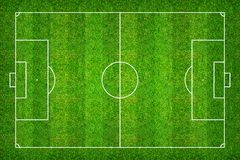 Football field or soccer field pattern and texture with clipping Royalty Free Stock Photo