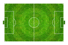 Football field or soccer field pattern and texture. Isolated on Stock Image