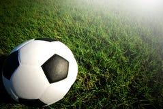 Football field soccer stadium Stock Photos