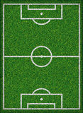 Football field. Vector illustration. Royalty Free Stock Image