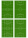 Football Fields Royalty Free Stock Images